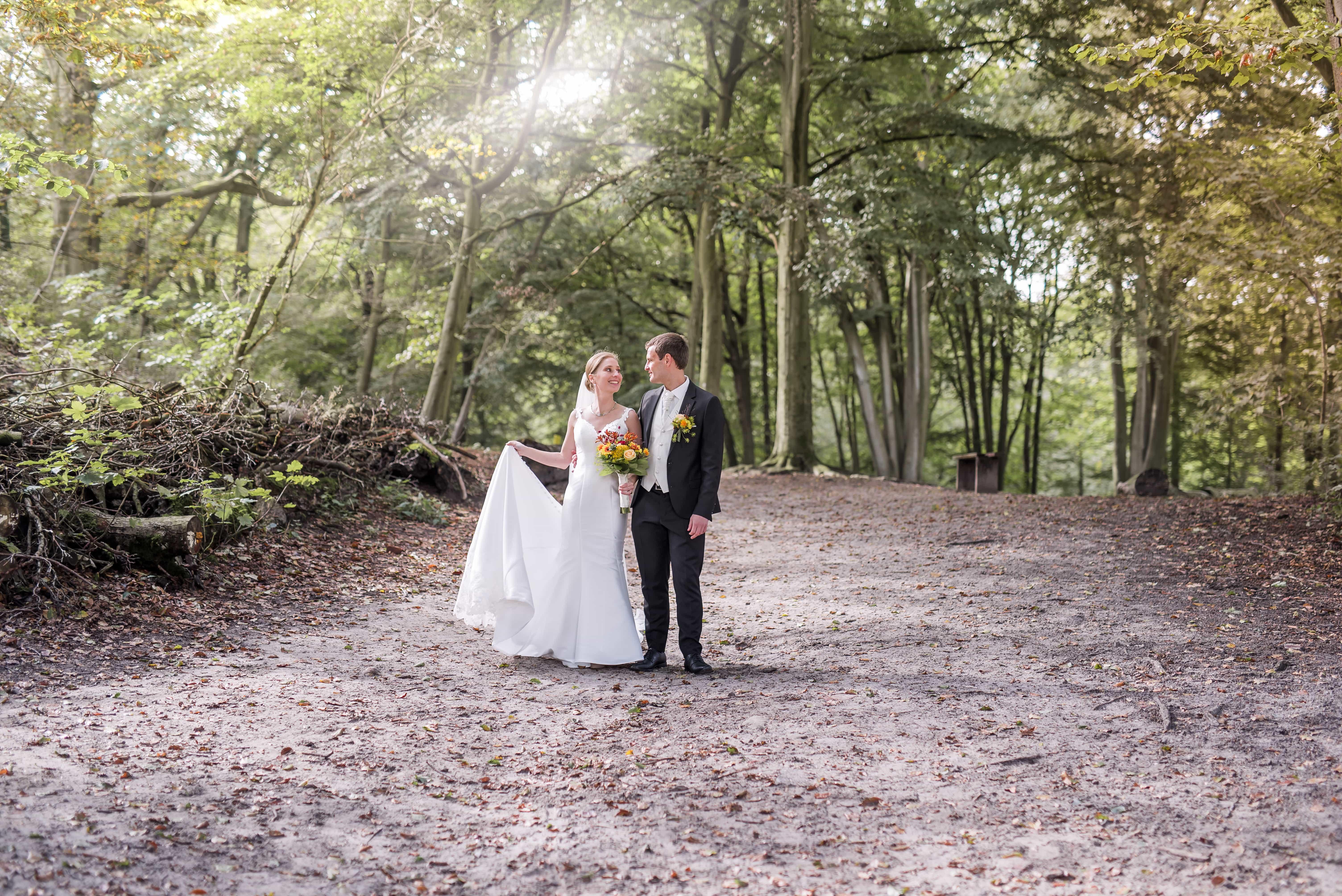 Bruiloft Maureen & Jon - fotoshoot